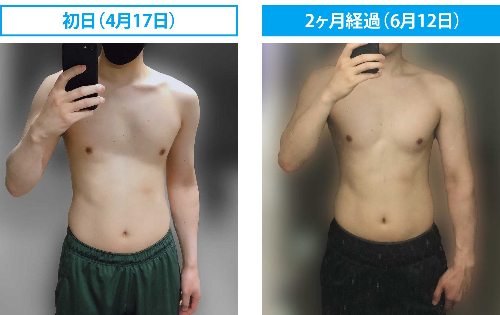 35歳からの体づくり_2ヶ月レポート1